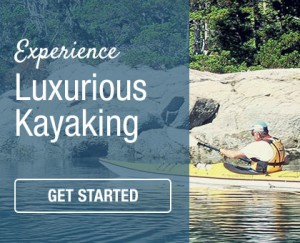 luxury kayaking with Go With The Flow adventures