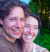 brody and christina of go with the flow luxury kayak adventures