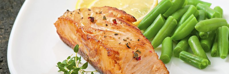 Brody's Maple Glaze Salmon